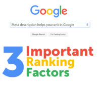 Your Description Does Effect Your Ranking In Google
