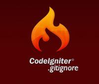 Gitignore for Codeigniter Framework