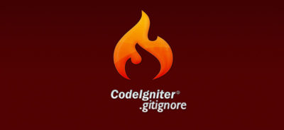 Gitignore for Codeigniter Framework