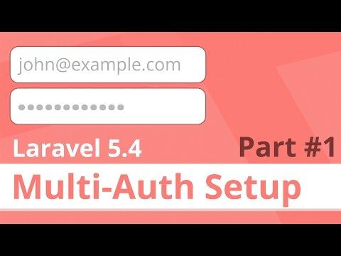 Setting Up Multi-Authentication in Laravel 5 4+ (Part 1) - DevMarketer