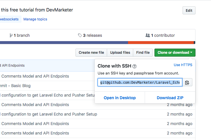 How to Setup a Laravel Project You Cloned from Github com - DevMarketer