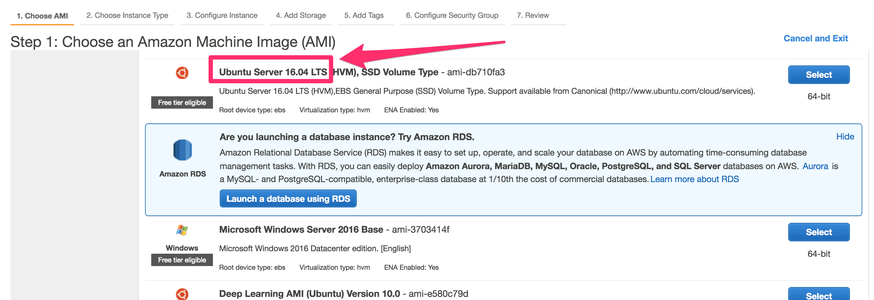 How to Get Ubuntu 18 04 on Amazon EC2 (Hint: it's